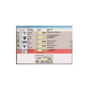 Software interface Marcom Professional 5.1